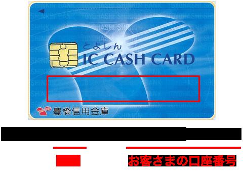コード キャッシュ カード 金融 機関